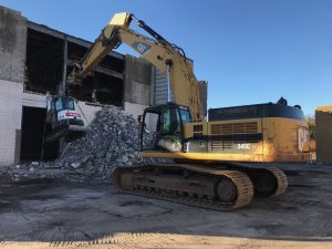 Catering hall demolition east Rutherford NJ