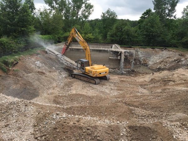 Water Treatment Plant demolition